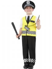 Childs Police Boy Costume